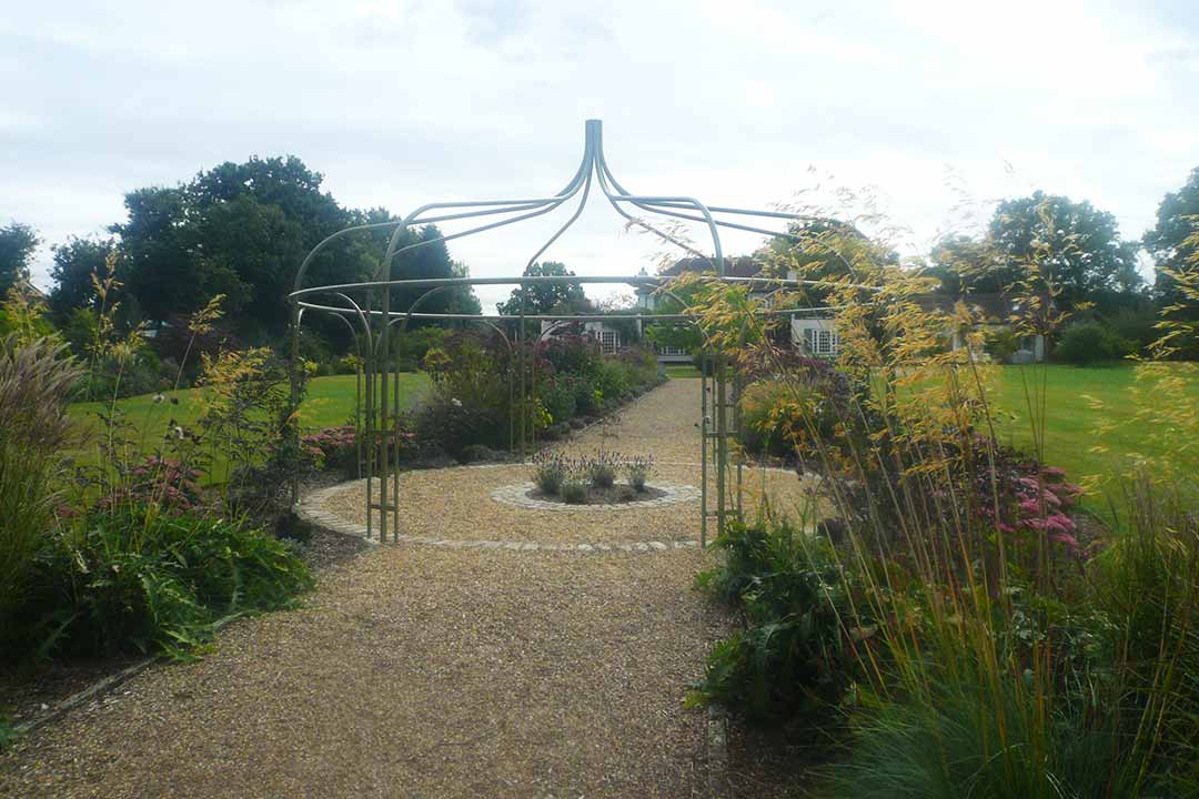 Planting & Gazebo Design, Brockham