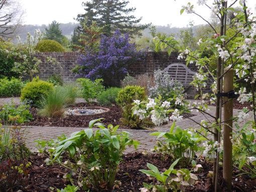Courtyard Garden Planting, Betchworth
